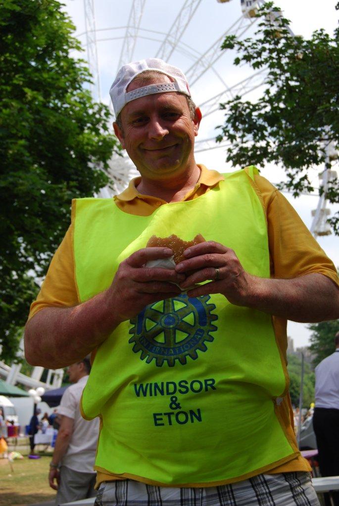 rotary summer fayre jon davey burger