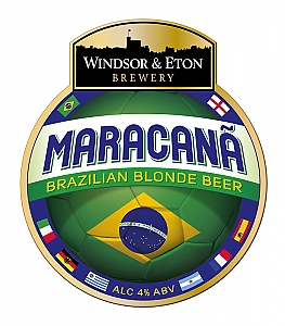 windsor and eton maracana brazilian blonde beer