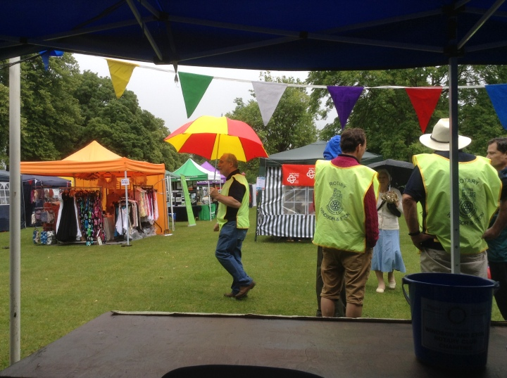 windsor midsummer fayre alexandra gardens 28th june brightest brolly competition