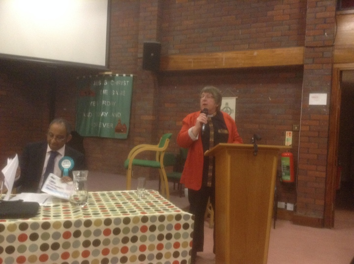 windsor hustings all saints church reverend louise 1