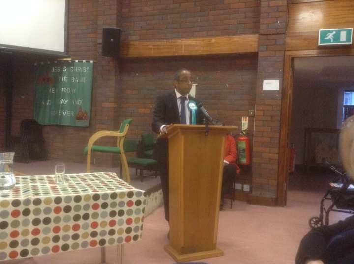 windsor hustings all saints church wisdom da costa independent who am i