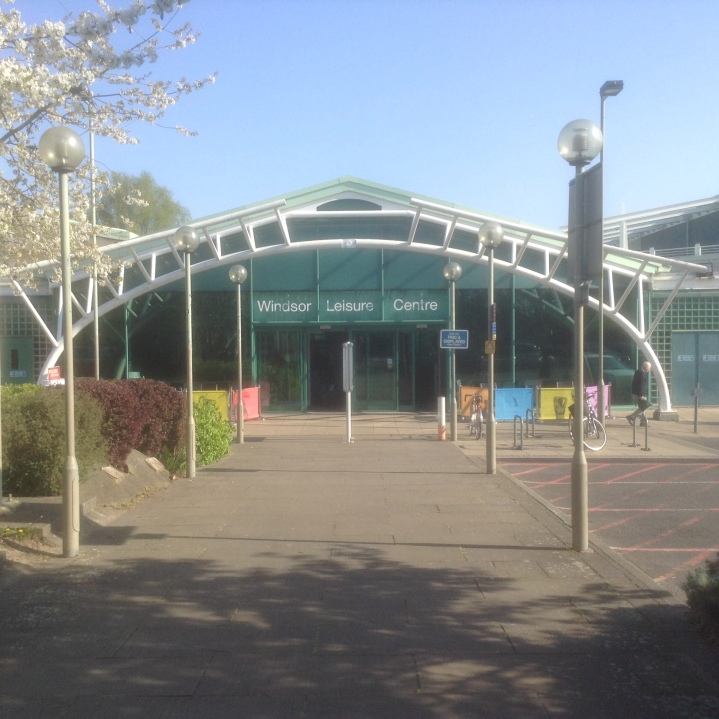 windsor leisure centre front
