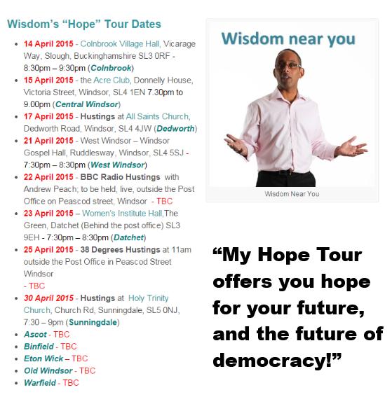 wisdom hope tour dates