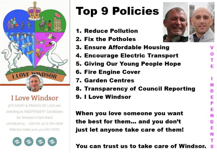top 9 policies