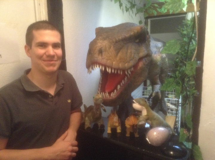 david webster loves dinosaurs
