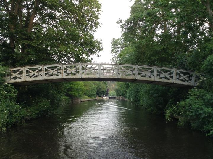 duck low bridge in cookham