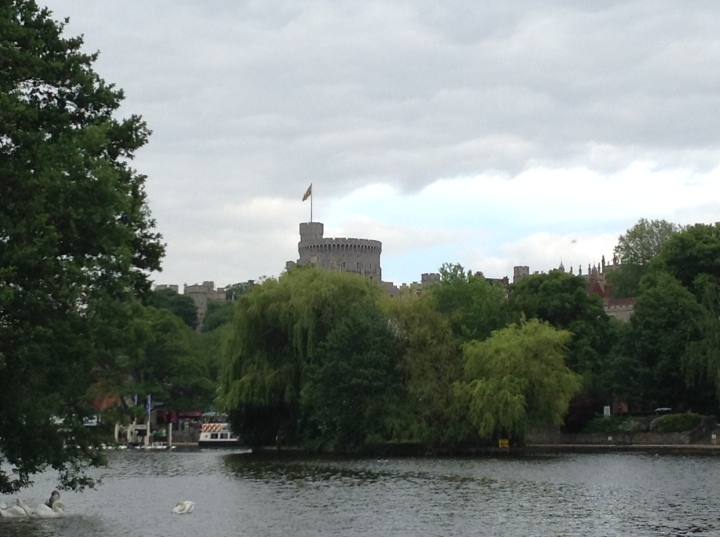 windsor castle from the broccas