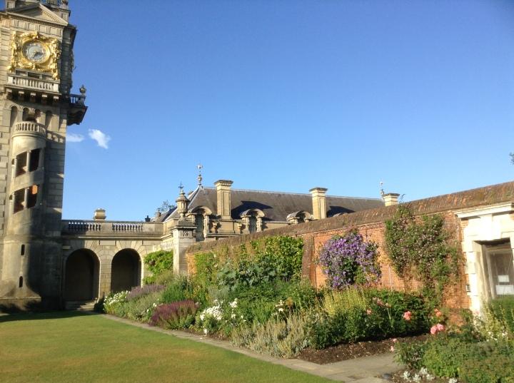 cliveden house clock tower walled garden