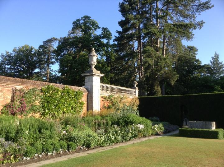 cliveden house walled garden