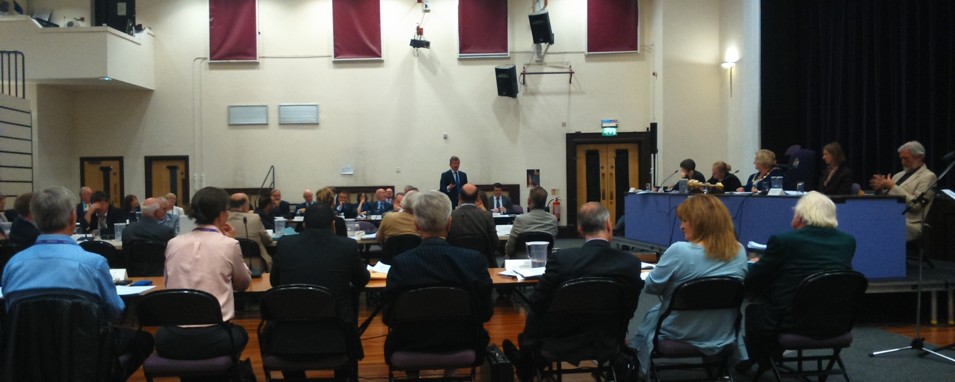 cllr simon dudley addresses rbwm 280715
