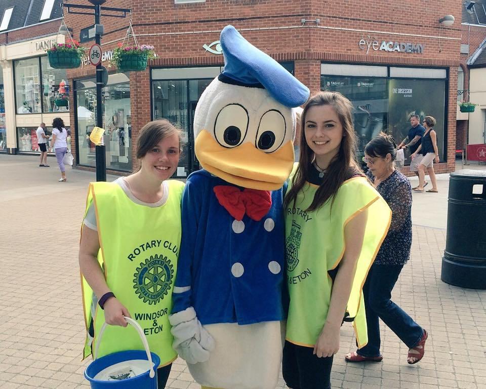 Duck Race Interact club 1