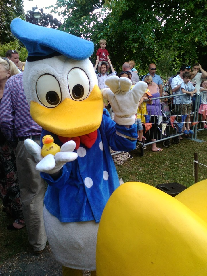 Duck Race Interact club 8