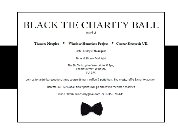 black tie charity ball 28th august