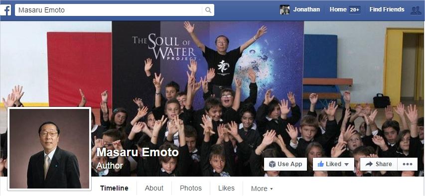 dr masaru emoto facebook page