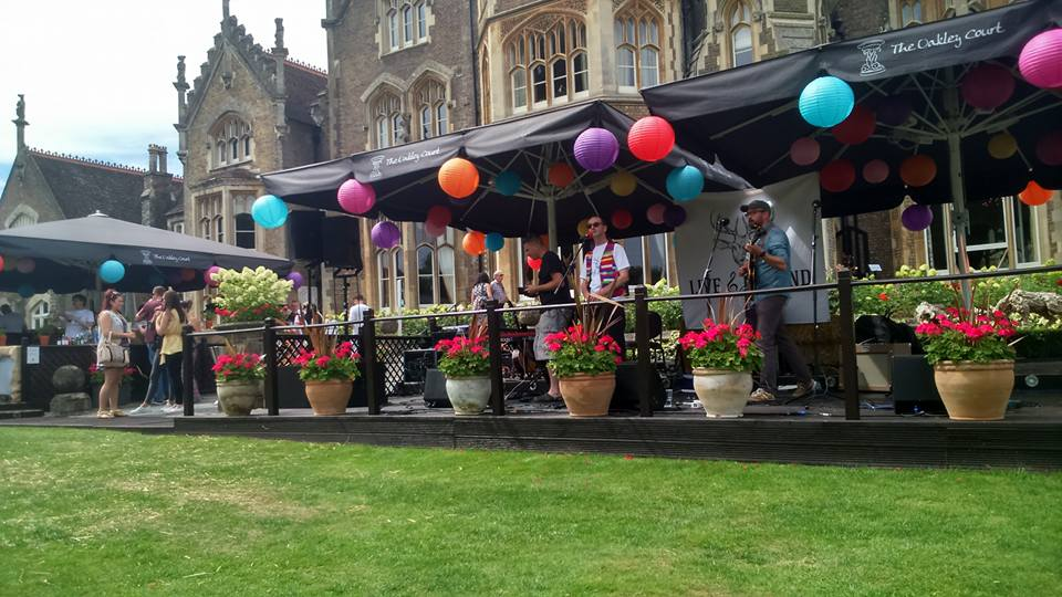 open air music at oakley court windsor