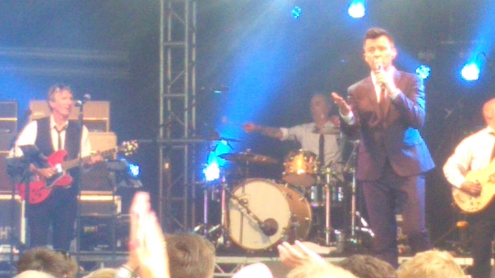 Rick Astley Ascot with ray fensome