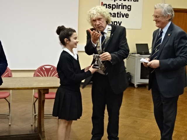 Rotary Youth Speaks Windsor and Eton Heat Windsor best speaker paul bayley