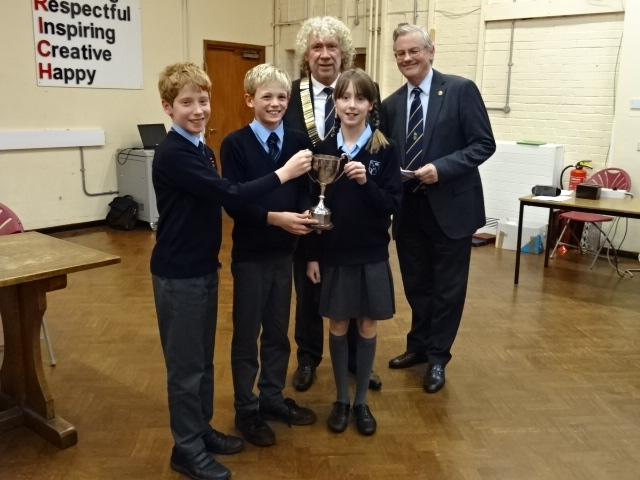 Rotary Youth Speaks Windsor and Eton Heat Windsor intermediate winners