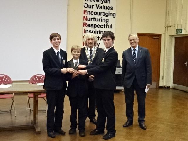 Rotary Youth Speaks Windsor and Eton Heat Windsor senior winners