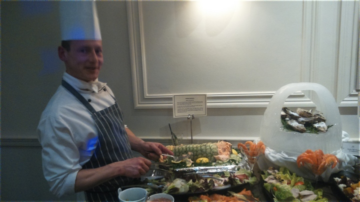 MGallery castle hotel launch chefs table