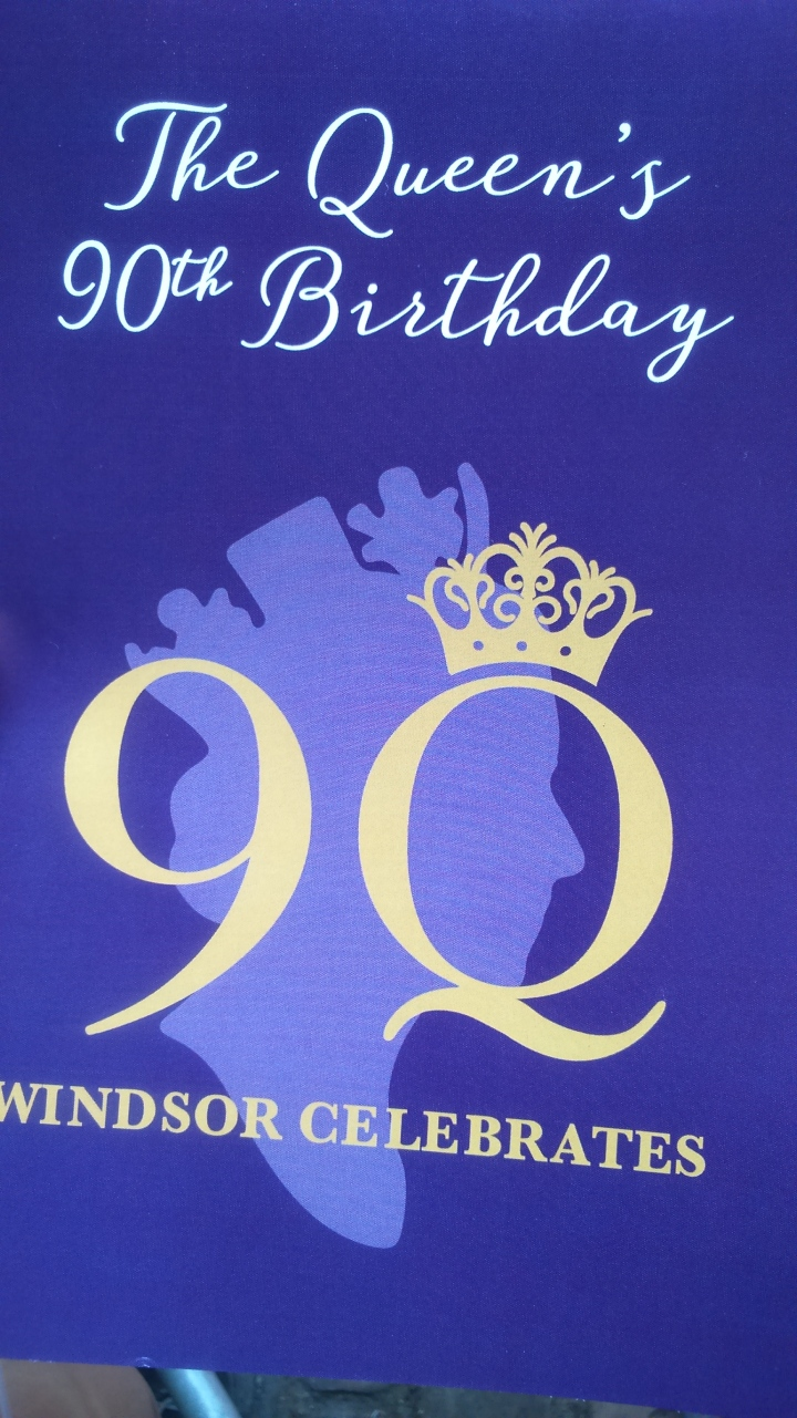 #queenat90 souvenir brochure