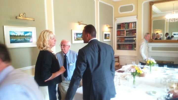 adam afriyie talks to young and old at cumberland lodge