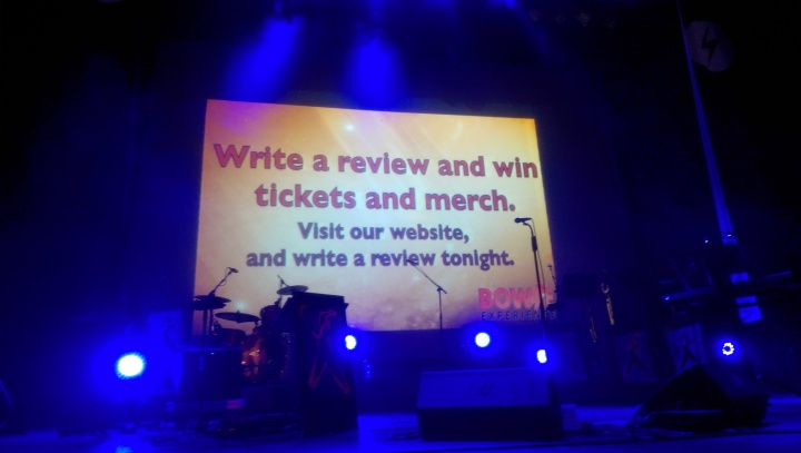 bowie experience windsor theatre write a review