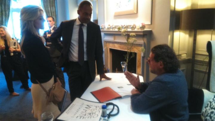 marco pierre white adam afriyie book signing