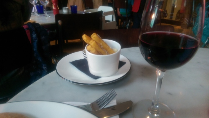 Pizza Express Windsor polenta chips