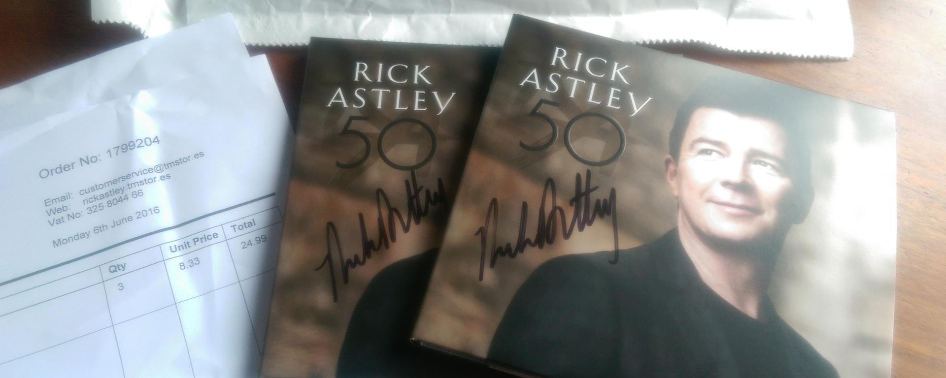 rick astley cd