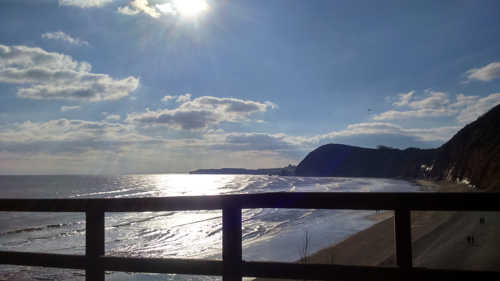 sidmouth sea view