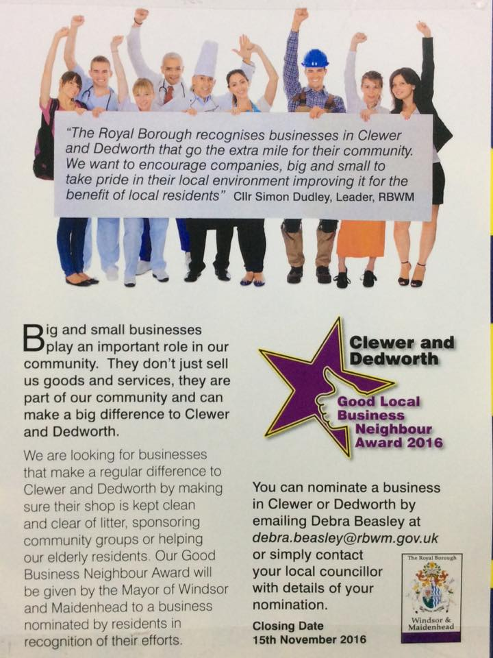 dedworth-and-clewer-good-local-business-neighbour-award-2016