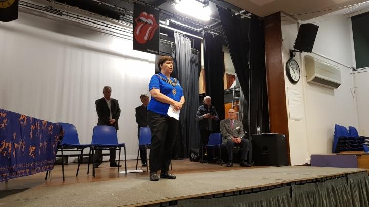 Gillian Pearce, District Governor
