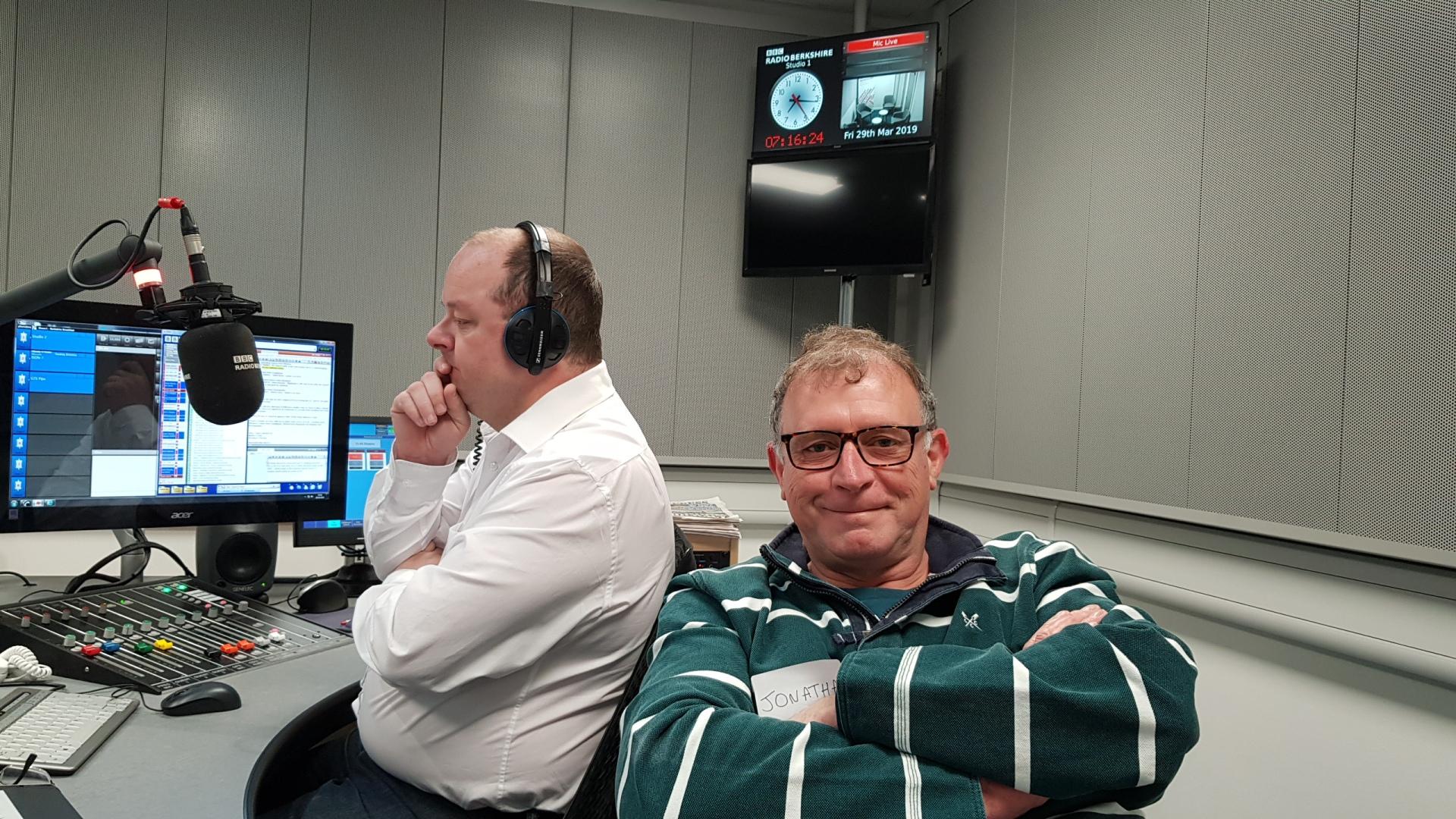 jon davey andrew peach bbc radio berkshire