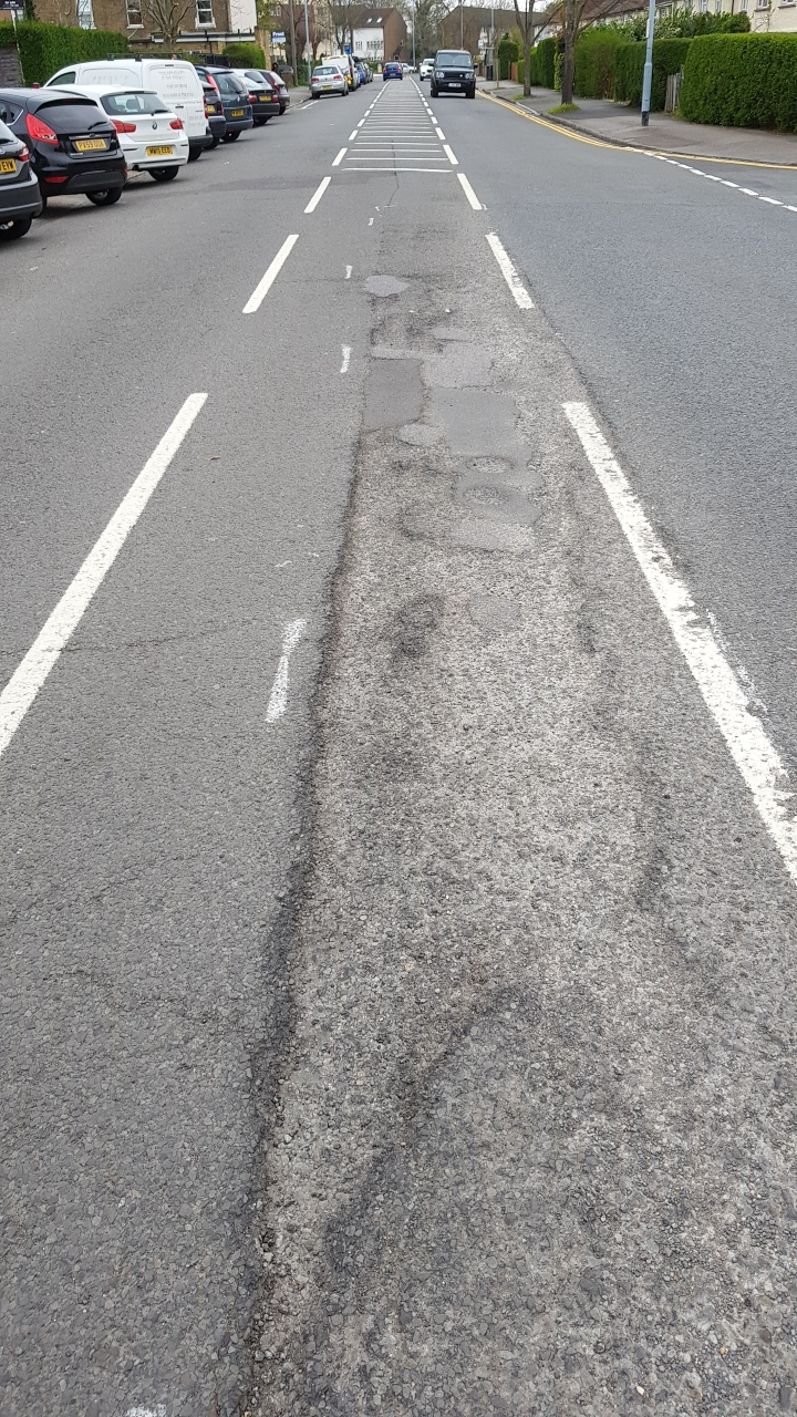 pot holes on dedworth road