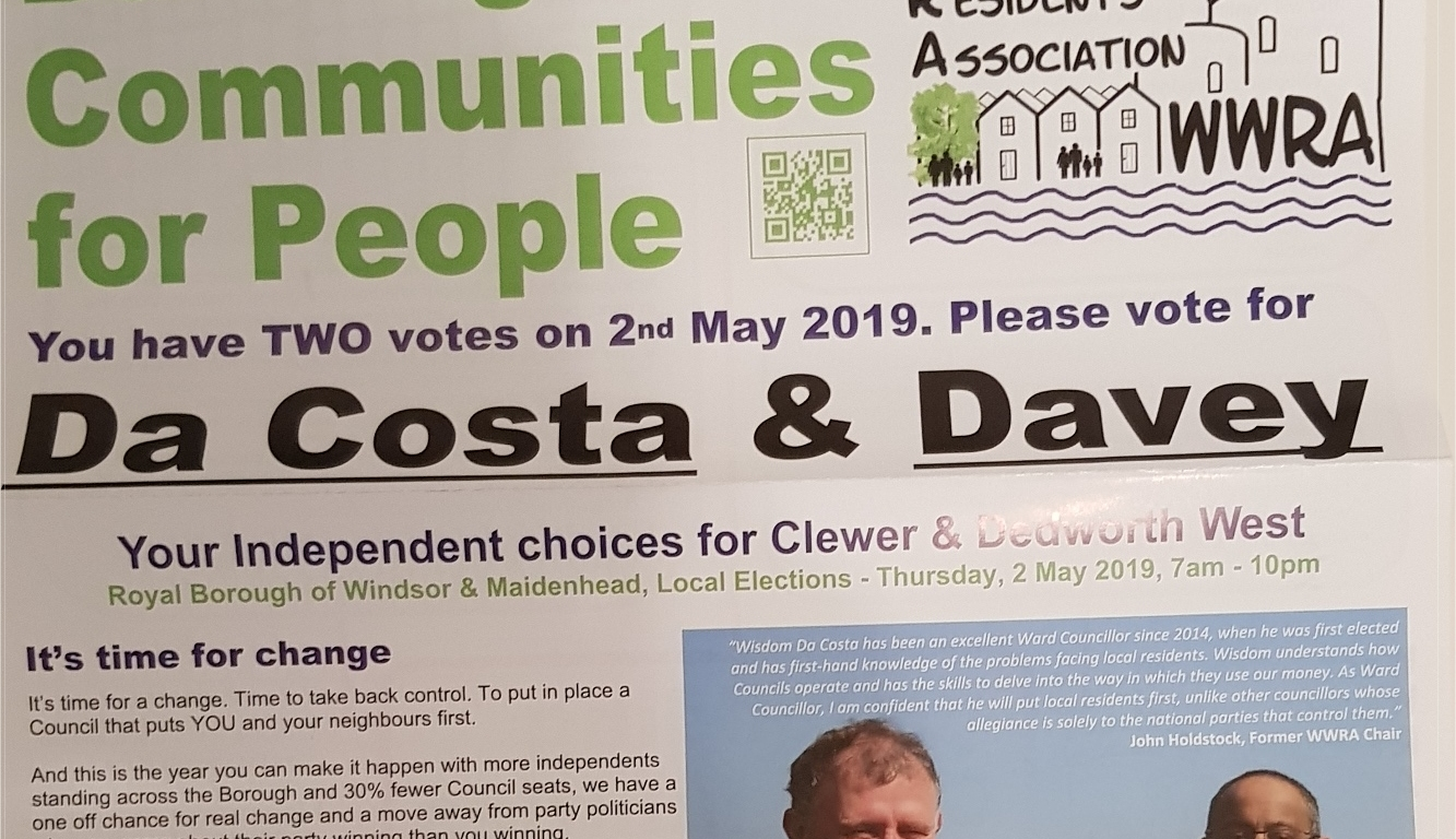 Review our WWRA election 2019 campaign points – I Love Windsor