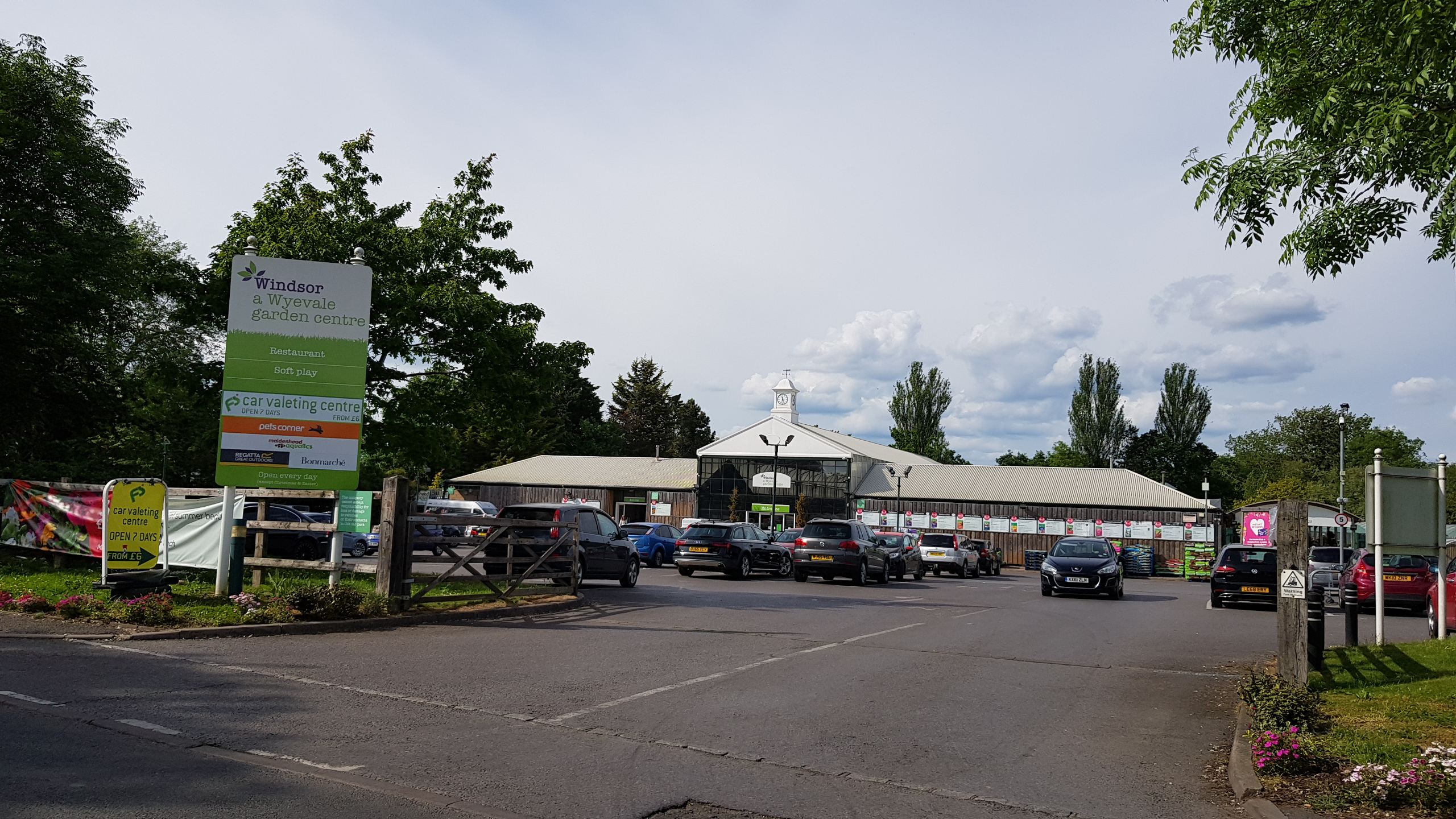wyevale front