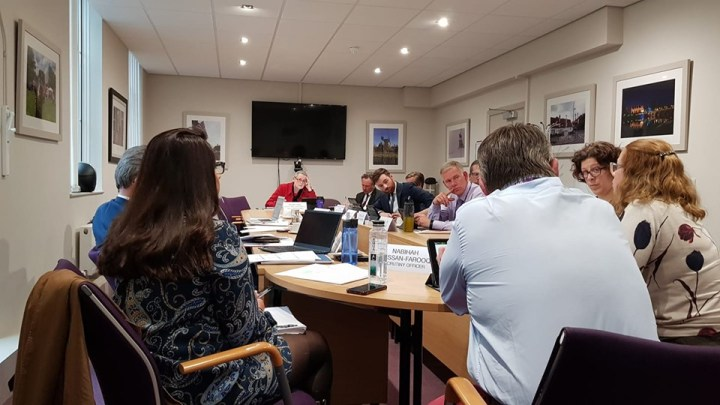 infrastructure scrutiny committee