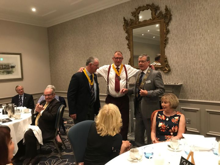 windsor and eton rotary club handover 2019