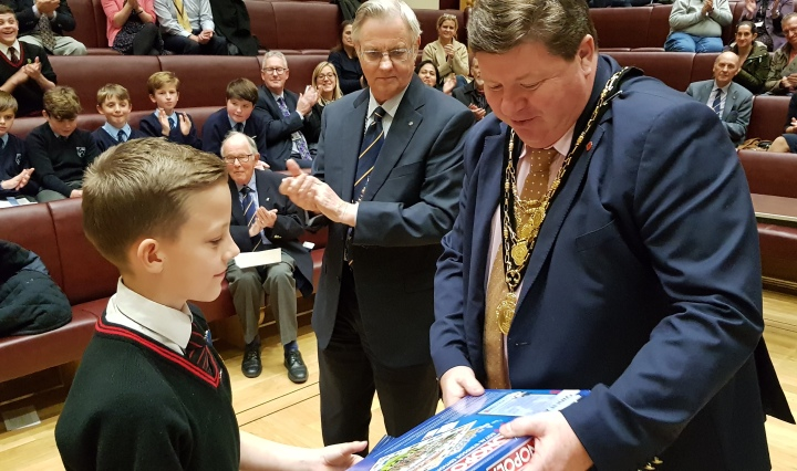 Mayor Thomas Stapleton Best Speaker Youth Speaks Intermediate Winner