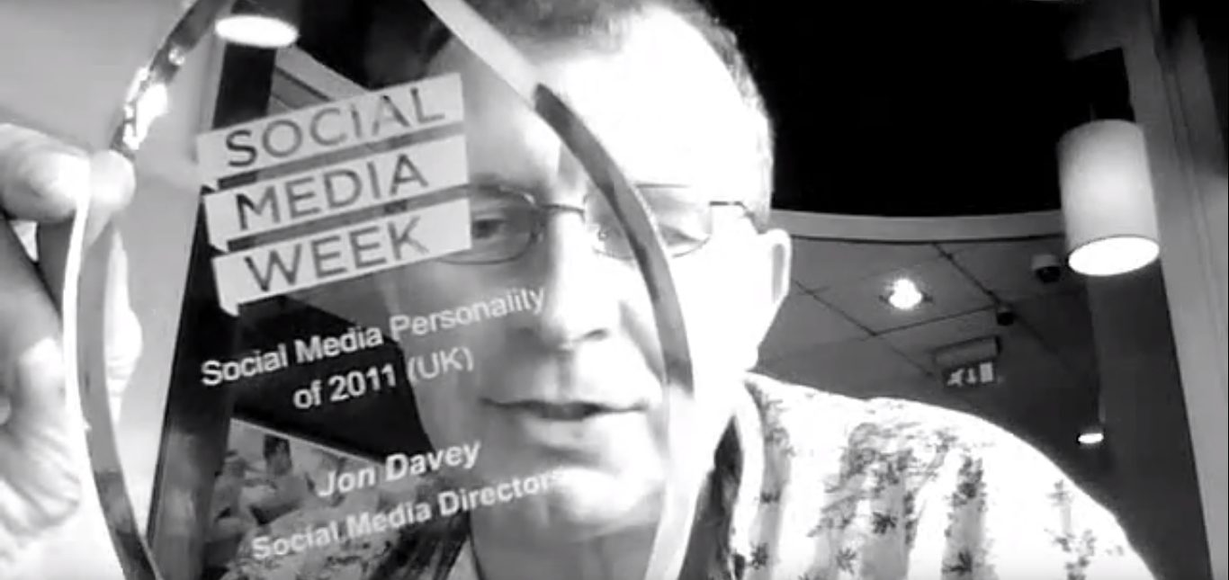 social media week social media personality of the year 2012 award video