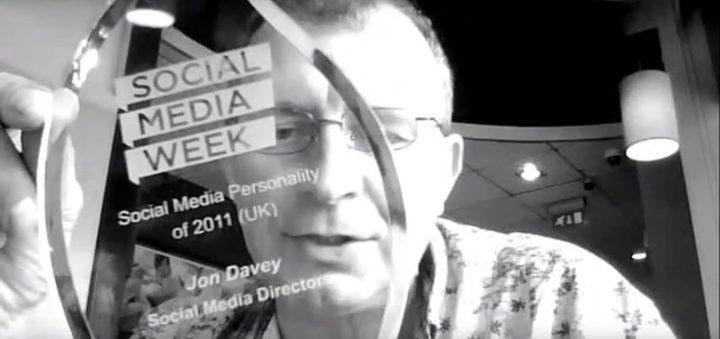 social media week social media personality of the year 2012 award video