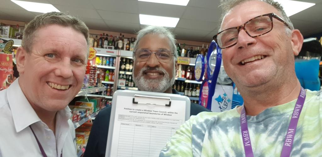 windsor town petition daljit