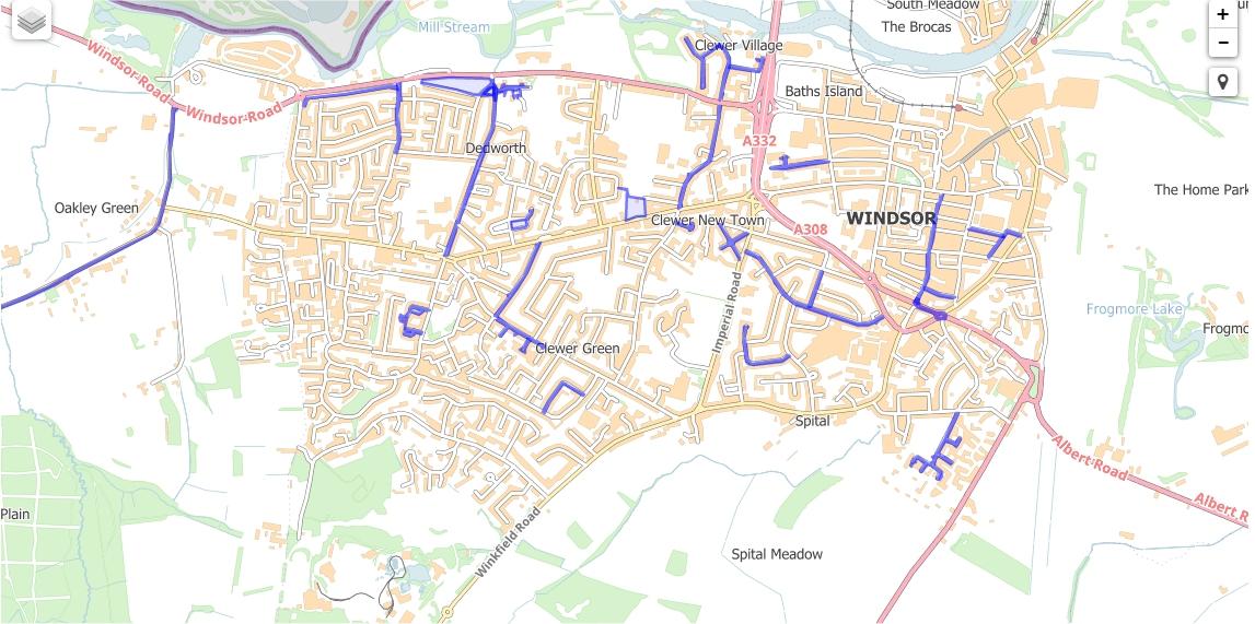 adopt a street map 180819