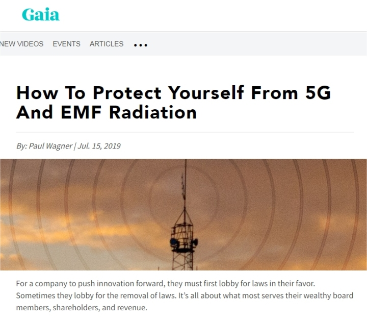 gaia protect yourself from emf