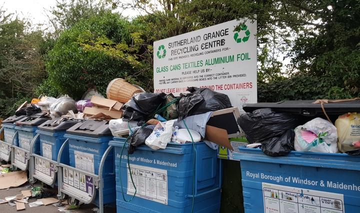 more litter at sutherland grange
