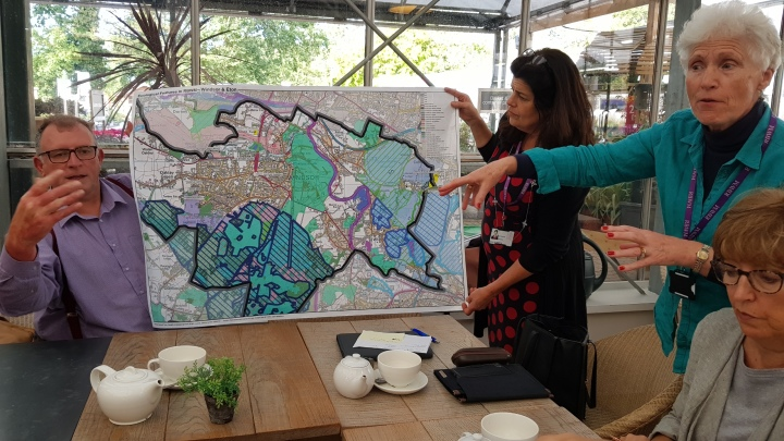 map of local biodiversity for windsor