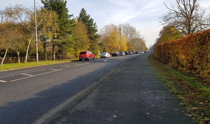 A308 near Sutherland Grange