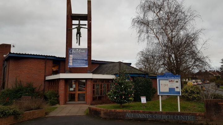 all saints christmas tree