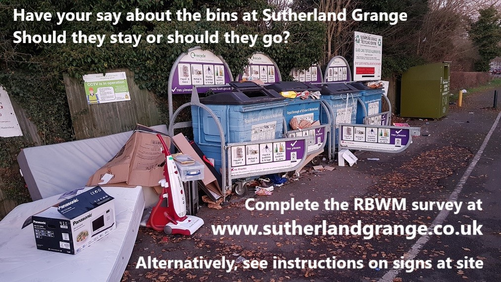 Sutherland Grange Recycling Survey